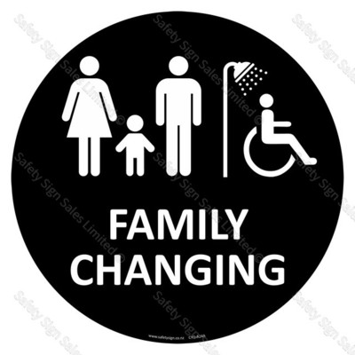 CYO-A24A Family Changing Sign