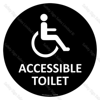 CYO|A25 - Accessible Toilet Sign