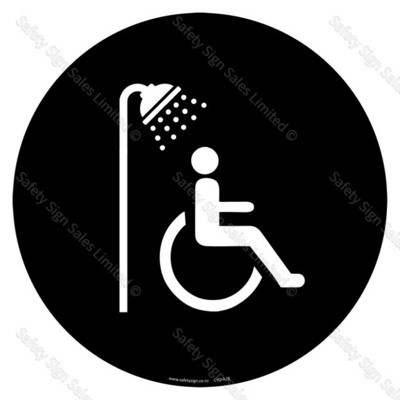 CYO|A28 - Accessible Shower Sign