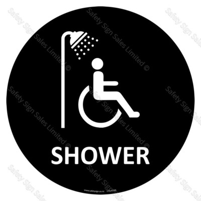 CYO|A28A - Accessible Shower Sign