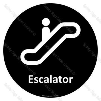 CYO|A30A - Escalator Sign