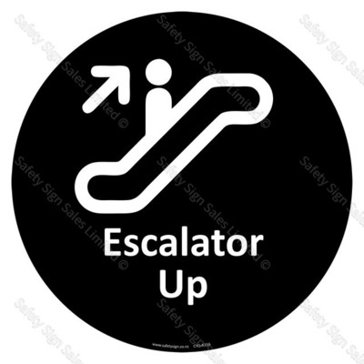 CYO|A33A - Escalator Up Sign