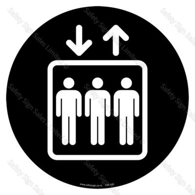CYO|A34 - Lift Sign