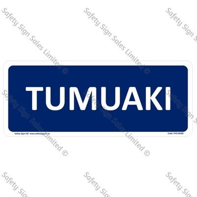 CYO|M300 - Tumuaki Sign