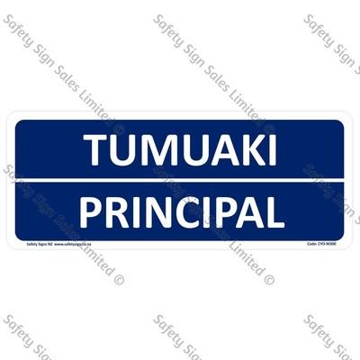 CYO|M300A - Principal Bilingual Sign