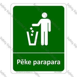 CYO|M601 - Pēke Parapara Sign