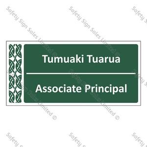 Associate Principal | Tumuaki Tuarua - ME002