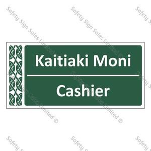 Cashier | Kaitiaki Moni - ME051