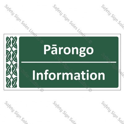 Information | Pārongo - ME054