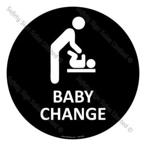 CYO|A27A - Baby Change Sign