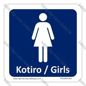 GA141A|CYO - Kōtiro Girls Sign
