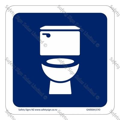 CYO|GA050A – Unisex Toilet Symbol