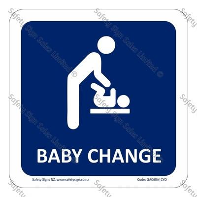 CYO|GA060A – Baby Change Sign