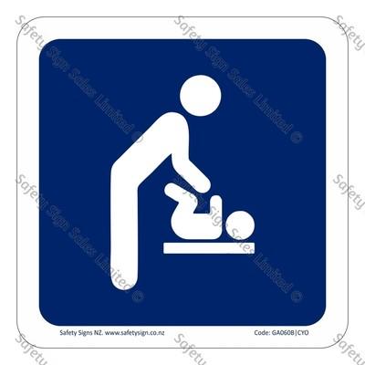 CYO|GA060B – Baby Change Sign