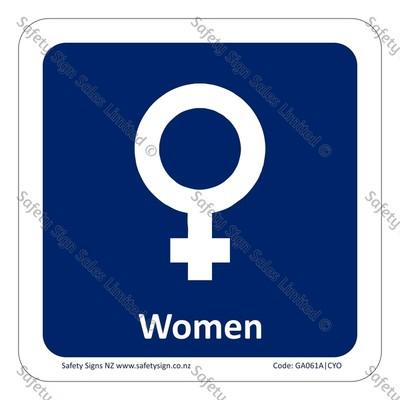 CYO|GA061A – Women Symbol Sign