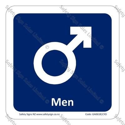 CYO|GA061B – Men Symbol Sign