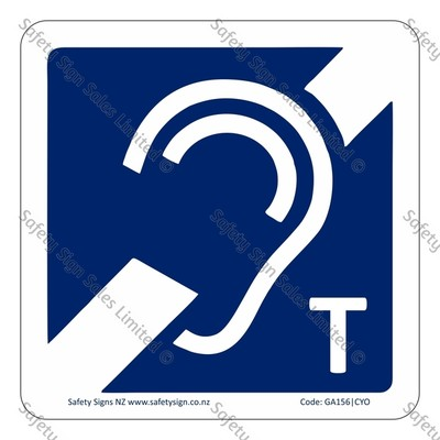 CYO|GA156 – Hearing Loop Sign