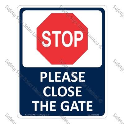 CYO|GA307B – Please close the Gate