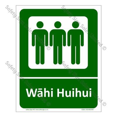 CYO|MSC49A - Wāhi HuiHui Sign