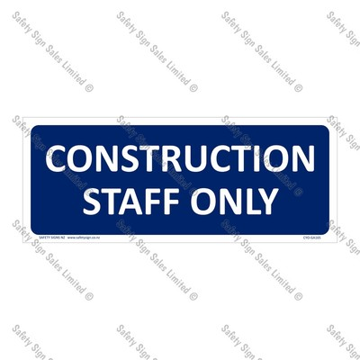 CYO|GA165 - Construction Staff Only