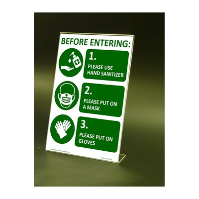 CYO|CV11S – Entrance Sign COVID-19