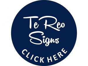 Te Reo Māori Signs NZ