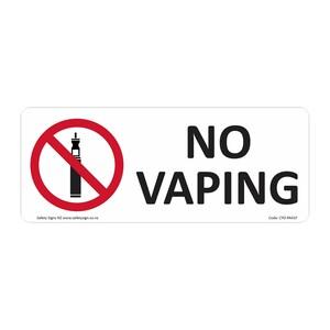 CYO|PA41F - No Vaping Sign