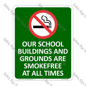 CYO|SF01 - Smokefree School Sign