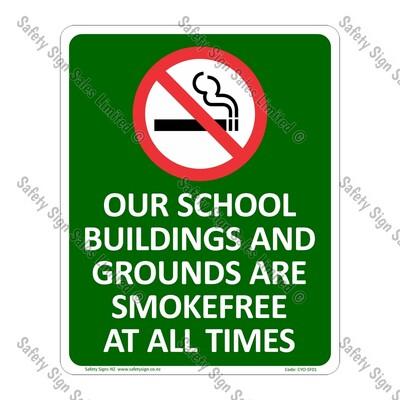 CYO|SF01 - Smokefree School Sign