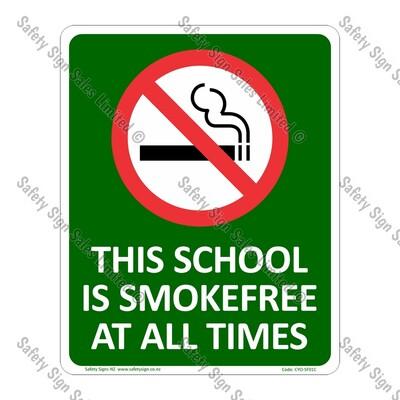 CYO|SF01C - School Smokefreee Sign