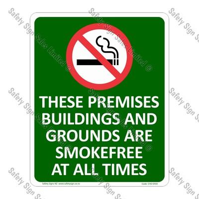 CYO|SF03 - Premises Smokefree Sign