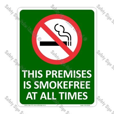 CYO|SF03C - Smokefree Premises Sign