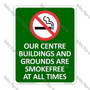 CYO|SF08 - Smokefree Centre Sign