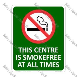 CYO|SF08C - Smokefree Centre Sign