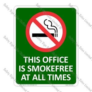 CYO|SF15C - Smokefree Office Sign