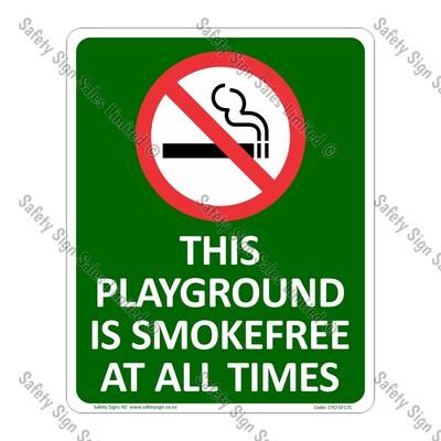CYO|SF17C - Smokefree Playground Sign
