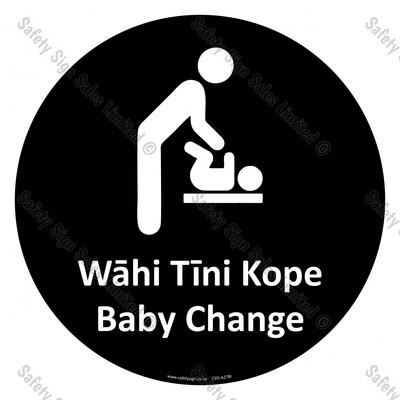 CYO|A27BI - Wāhi Tini Kope Sign