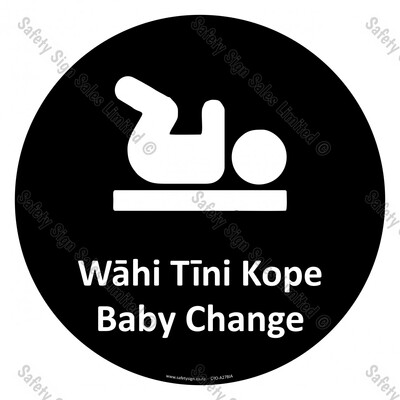 CYO|A27BIA - Wāhi Tini Kope Sign