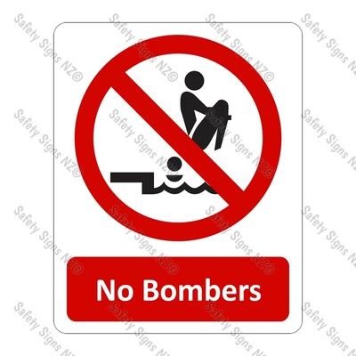 CYO|PA17 – No Bombers Sign