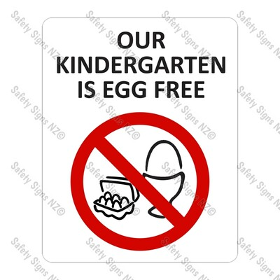 CYO|PA04 - Our Kindergarten is Egg Free