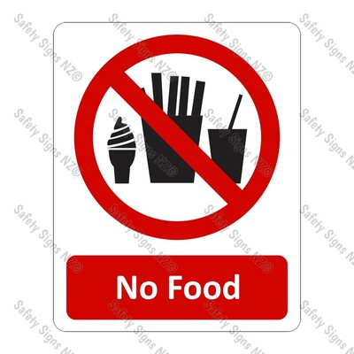 CYO|PA19 – No Food Sign