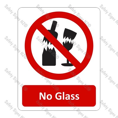 CYO|PA20 – No Glass Sign