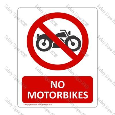 CYO|PA07 – No Motorbikes Sign