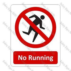 CYO|PA23 – No Running Sign