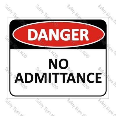 CYO|DA03 - No Admittance Sign