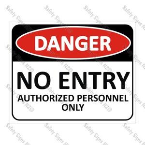 CYO|DA04 - No Entry Sign