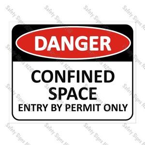 CYO|DA05 - Confined Space Sign