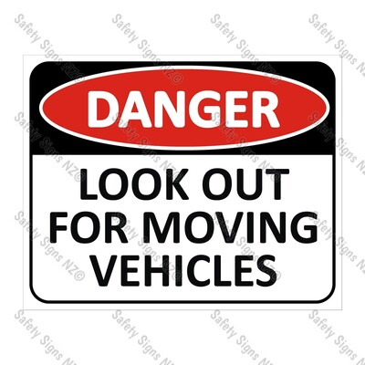 CYO|DA06 - Look Out For Moving Vehicles