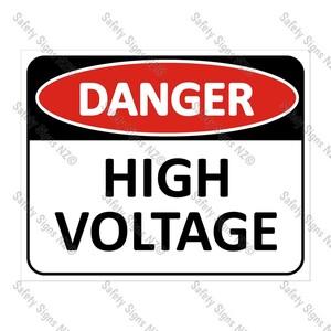 CYO|DA09 - High Voltage Sign