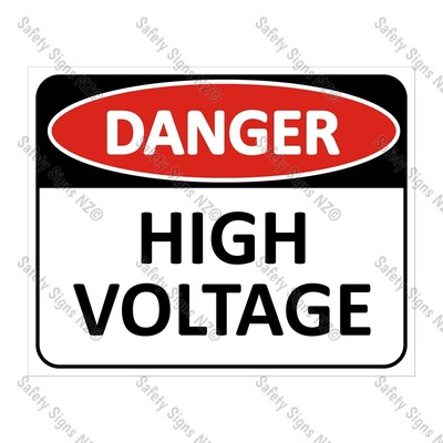 CYO|DA09 - High Voltage Sign